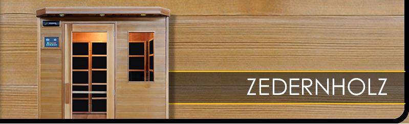 w rmekabinen infrarotkabinen aus zederholz g nstig. Black Bedroom Furniture Sets. Home Design Ideas